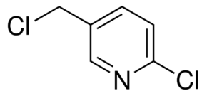 Structure of 2-Chloro-5-chloromethylpyridine CAS 70258-18-3
