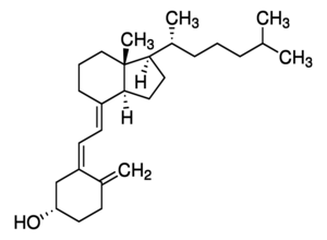 Structure of Vitamin D3 CAS 67-97-0