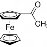 Structure of Acetylferrocene CAS 1271-55-2