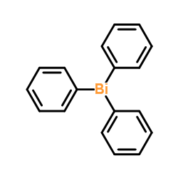 Structure of Triphenylbismuth CAS 603-33-8