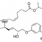 Structure of Travoprost CAS 157283-68-6