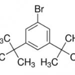 Structure of 3,5-Di-tert-butylbromobenzene CAS 22385-77-9