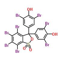 structure of Tetrabromophenol Blue CAS 4430-25-5