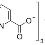 structure of Chromium picolinate 14639-25-9 or 15713-60-7