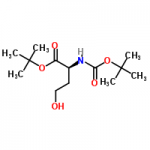 structure of N-Boc-L-homoserineButylEster CAS 81323-58-2