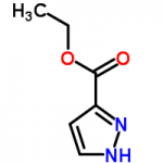 structure of Ethyl pyrazole-3-carboxylate CAS 5932-27-4