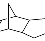 structure of Dicyclopentadiene diepoxide CAS 81-21-0