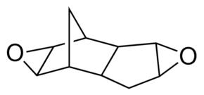 structure of Dicyclopentadiene diepoxide CAS 81-21-0