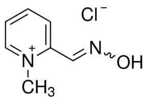structure of 2-Pyridinealdoxime methochloride CAS 51-15-0