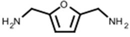 structure of 2,5-bis(aminomethyl)furan CAS 2213-51-6