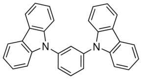 structure of 9,9'-(1,3-Phenylene)bis-9H-carbazole CAS 550378-78-4