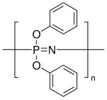 structure of POLY(BIS(PHENOXY)PHOSPHAZENE) CAS 28212-48-8