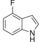structure of 4-Fluoroindole CAS 387-43-9