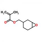 Structure of 3,4-Epoxycyclohexylmethyl methacrylate CAS 82428-30-6