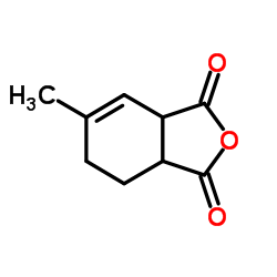 Structure of 6-Methyl-3a,4,5,7a-tetrahydro-2-benzofuran-1,3-dione CAS 34090-76-1