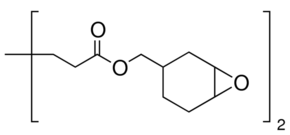 Structure of Bis(3,4-epoxycyclohexylmethyl) adipate CAS 3130-19-6