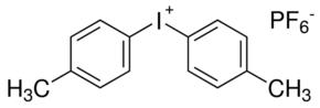 Structure of Bis(4-methylphenyl)iodonium hexafluorophosphate CAS 60565-88-0
