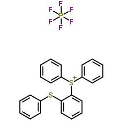 Structure of Diphenyl[2-(phenylsulfanyl)phenyl]sulfonium hexafluorophosphate CAS 75482-18-7