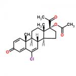 Structure of DelmadinoneAcetate CAS 13698-49-2