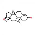 Structure of Androstenedione CAS 63-05-8