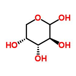 Structure of L(+)Arabinose CAS 87-72-9