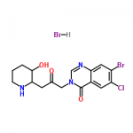 structure of Halofuginone Hydrobromide CAS 17395-31-2
