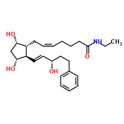 Structure of Bimatoprost CAS 155206-00-1