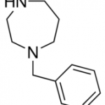 Structure of 1-Benzyl-1,4-diazepane CAS 4410-12-2