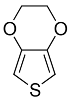 Structure of 3,4-Ethylenedioxythiophene CAS 126213-50-1