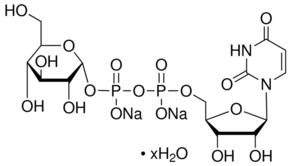 Structure of Uridine 5'-diphosphoglucose disodium salt CAS 28053-08-9