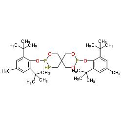 Structure of Bis(2,6-di-ter-butyl-4-methylphenyl)pentaerythritol-diphosphite CAS 80693-00-1