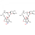 Structure of Milbemycin oxime CAS 129496-10-2