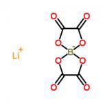 Structure of Lithium Bis(oxalato) Borate CAS 244761-29-3
