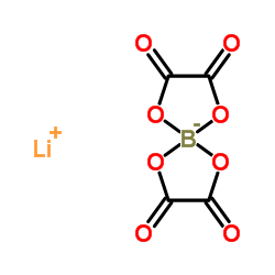 Structure of Lithium Bis(oxalato) Borate CAS 244761-29-3