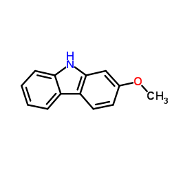 Structure of 2-METHOXY-9H-CARBAZOLE CAS 6933-49-9
