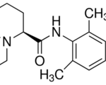 Structure of Ropivacaine HCl CAS 132112-35-7