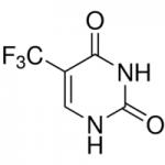 Structure of 5-(Trifluoromethyl)uracil CAS 54-20-6