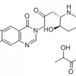 Structure of Halofuginon Lactate CAS 82186-71-8