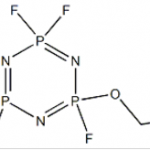 Structure of 2-Ethoxy-2,4,4,6,6-pentafluoro-1,3,5,2,4,6-triazatriphosphorine CAS 33027-66-6