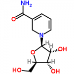 Srtucture of Nicotinamide ribose CAS 1341-23-7