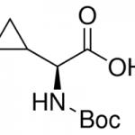 Structure of Boc-L-cyclopropylglycine CAS 155976-13-9