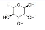 Structure of L-rhamnopyranose CAS 3615-41-6