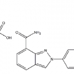 Structure of niraparib p-toluenesulfonate CAS 1038915-73-9
