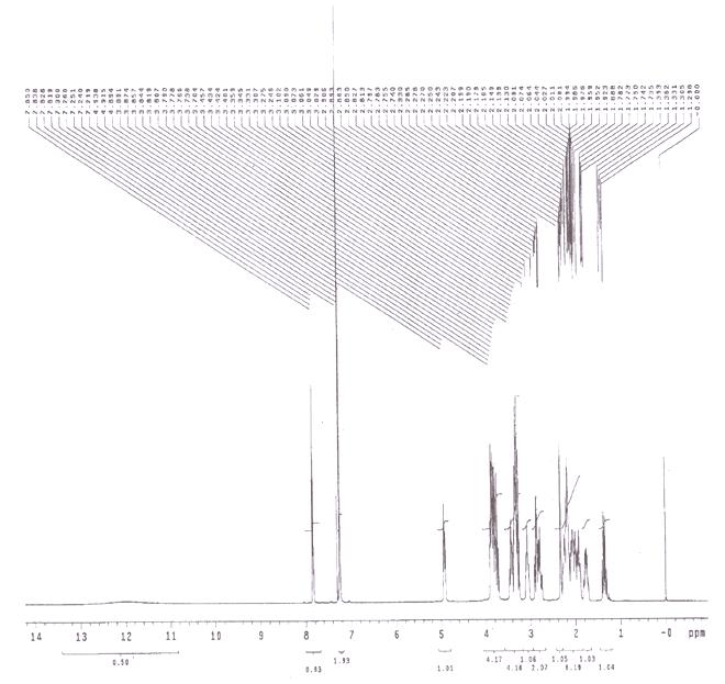 Palonosetron Hydrochloride CAS 135729-62-3 HNMR