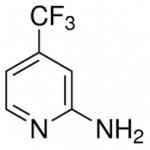 Structure of 2-Amino-4-(trifluoromethyl)pyridine CAS 106447-97-6