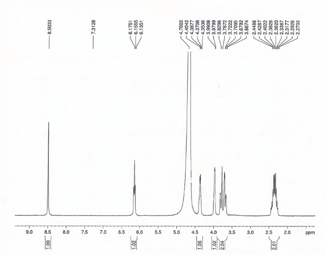 Trifluridine CAS 70-00-8 HNMR