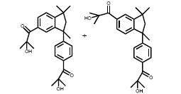 Structure of 2-hydroxy-1-(3-[4(2-hydroxy-2-methyl-propionyl)-phenyl ]-1,1,3-trimethyl-indan-5-yl}-2-methyl-propan-1-one CAS 163702-01-0
