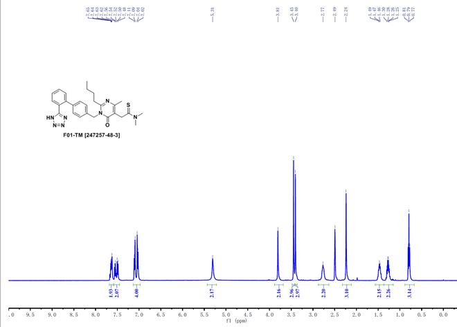 Fimasartan CAS 247257-48-3 HNMR