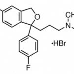 Structure of Citalopram Hydrobromide CAS 59729-32-7