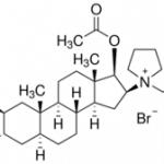 Structure of Rocuronium bromide CAS 119302-91-9